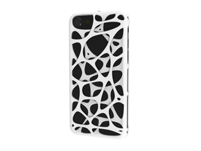 iPhone 7 case - Cell 2 in White Strong & Flexible Polished