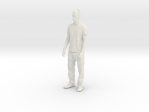 Printle C Homme 025 - 1/43 - wob in White Strong & Flexible