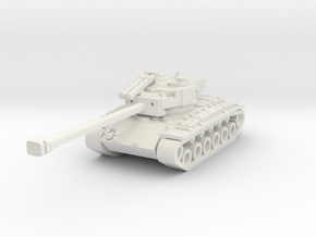 T26E4 SuperPershing 1/285 scale in White Natural Versatile Plastic