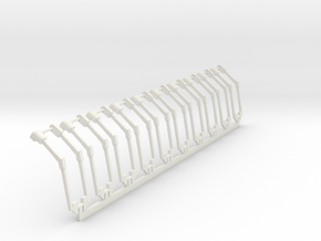1/64 Thunder 6000 Power Tarp kits X 10 in White Natural Versatile Plastic