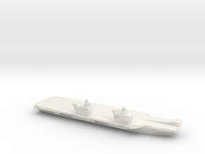 Queen Elizabeth-class aircraft carrier, 1/2400 in White Natural Versatile Plastic