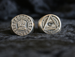 Novus Ordo Seclorum in Natural Silver