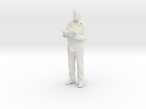 Printle C Homme 044 - 1/43 - wob in White Natural Versatile Plastic