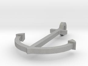 Anchor pendant in Aluminum