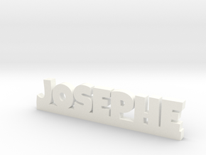JOSEPHE Lucky in White Strong & Flexible Polished