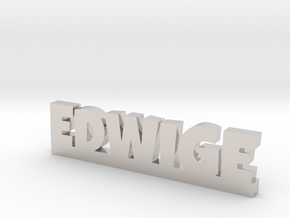 EDWIGE Lucky in Rhodium Plated Brass