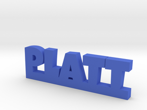 PLATT Lucky in Blue Processed Versatile Plastic