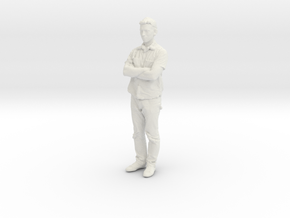 Printle C Homme 051 - 1/43 - wob in White Natural Versatile Plastic