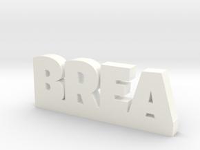 BREA Lucky in White Processed Versatile Plastic