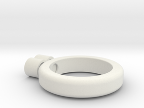 eternity ring in White Natural Versatile Plastic