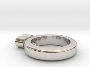 eternity ring in Platinum