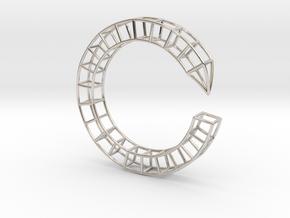 Pen Bracelet Medium Size in Platinum: Medium
