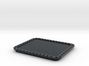 DDG-51 Aft Stackhouse Vent 6 - (4 Pk) in Black Hi-Def Acrylate