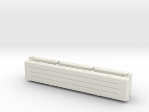 1/16 scale Whirbelwind spare barrel storage boxes. in White Strong & Flexible