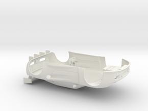 Edwidge96mm in White Natural Versatile Plastic