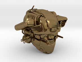 Halo 5 Argus/linda helmet mcfarlane scale in Polished Bronze