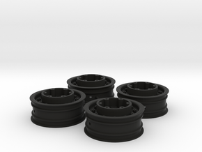 3382 - Tribute 2.2 MT Tote Wheel, 4pc. in Black Strong & Flexible