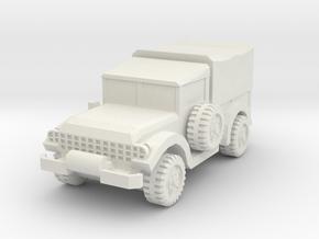 1/87 M37 in White Natural Versatile Plastic