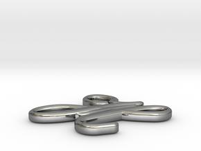 Model-5d1018e5787f8d93293cdbecb6d165b8 in Fine Detail Polished Silver