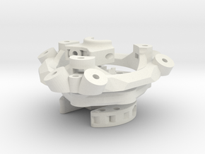 Piezo Hotend z-probe for e3d v6 + Magnetic Delta P in White Natural Versatile Plastic