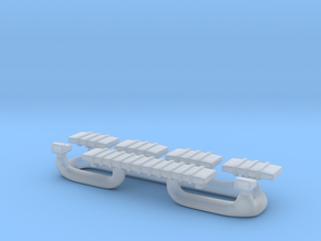 1/87 Light Bar #4 in Smooth Fine Detail Plastic
