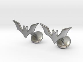 The Batman Beyond Cufflinks in Natural Silver