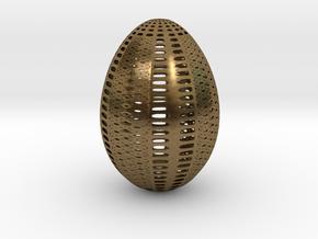 Designer Egg 1 in Natural Bronze