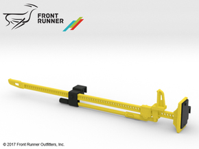 FR10023 Jack and Bracket - YELLOW in Yellow Processed Versatile Plastic