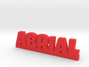ABRIAL Lucky in Red Processed Versatile Plastic