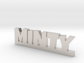 MINTY Lucky in Rhodium Plated Brass