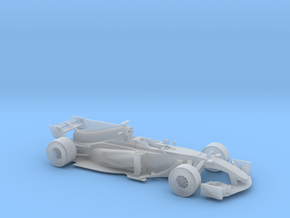 F1 2017 car 1/64 in Smooth Fine Detail Plastic