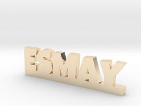 ESMAY Lucky in 14k Gold Plated Brass