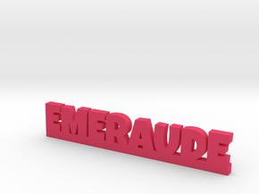 EMERAUDE Lucky in Pink Processed Versatile Plastic