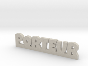 PORTEUR Lucky in Natural Sandstone