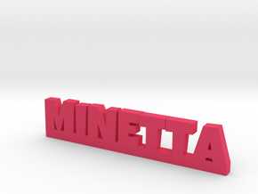 MINETTA Lucky in Pink Processed Versatile Plastic