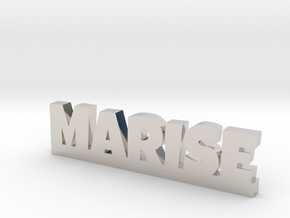 MARISE Lucky in Rhodium Plated Brass