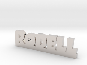RODELL Lucky in Rhodium Plated Brass