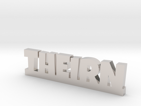 THEIRN Lucky in Rhodium Plated Brass