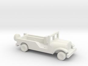 1/200 Scale M170 Jeep Ambulance in White Natural Versatile Plastic