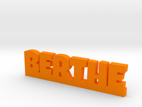 BERTHE Lucky in Orange Processed Versatile Plastic