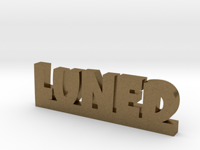 LUNED Lucky in Natural Bronze