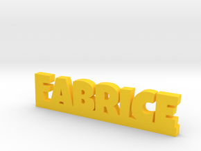 FABRICE Lucky in Yellow Processed Versatile Plastic