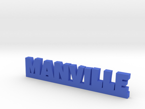 MANVILLE Lucky in Blue Processed Versatile Plastic
