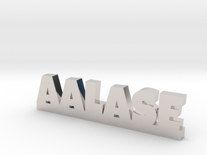 AALASE Lucky in Rhodium Plated Brass