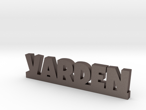 VARDEN Lucky in Polished Bronzed Silver Steel