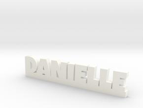 DANIELLE Lucky in White Processed Versatile Plastic