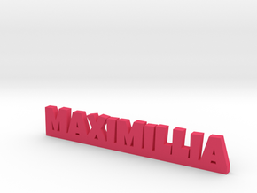 MAXIMILLIA Lucky in Pink Processed Versatile Plastic