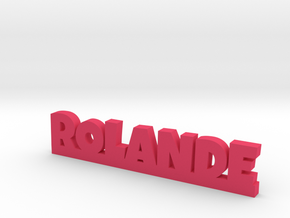 ROLANDE Lucky in Pink Processed Versatile Plastic