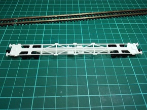 3 * KFA Wagon N Gauge 1:148 in Frosted Ultra Detail