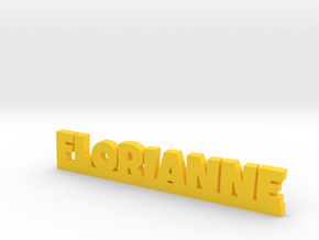 FLORIANNE Lucky in Yellow Processed Versatile Plastic